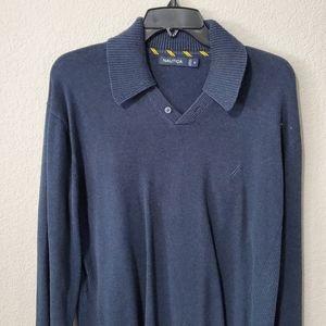 Nautica Navy Sweater